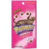 Pounce Cat Treats, Crunchy, Tuna Flavor 2.1 oz (Pack of 12)