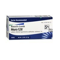 Bausch & Lomb Muro 128 5% Ointment, 3.5 gm (Pack of 1)