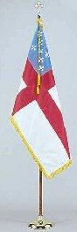 Episcopal Flag - Indoor Set 8' Pole 3 ft. x 5 ft. Flag