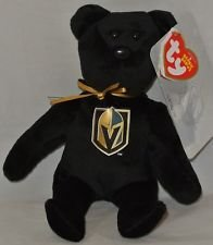ty VEGAS GOLDEN KNIGHTS NHL Beanie Baby Teddy Bear Plush 8.5