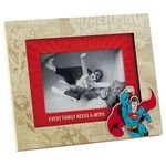 Hallmark Superman Every Family Needs a Hero Picture Frame, 4x6 Picture Frames Superheroes; Movies & TV