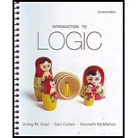 Introduction to Logic, Copi and Cohen, Carl, 0205214452