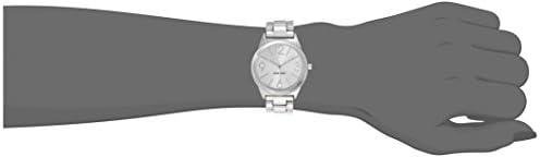 Nine West Women's NW/1663SVSB Silver-Tone Bracelet Watch 2