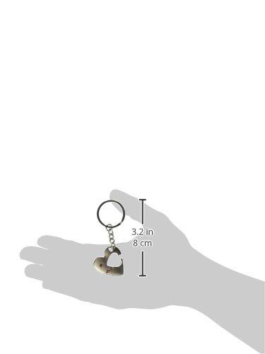 OliaDesign World Pride Key to My Heart Cute Couple Love Keychain Ring (arrow) Photo #2