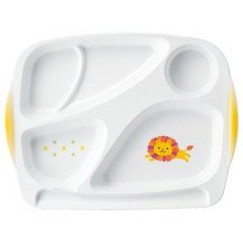 熱い販売 高級こどもベビー食器 メラミン食器 ライオンしょくたん 特深ランチプレート 5個セットまとめ買い 仕切りがすっごく深いのですくいやすくこぼれにくい。 B0799JT4CQ トレーいらずでお子様がグラグラしないで持てます。 日本製  保育園専用食器 B0799JT4CQ, 舞杏BUAN:4af1be82 --- a0267596.xsph.ru