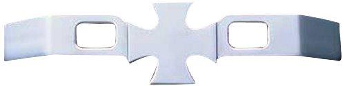 All Sales OEM472C Chrome Billet Aluminum Iron Cross Door Handles - Set of 2