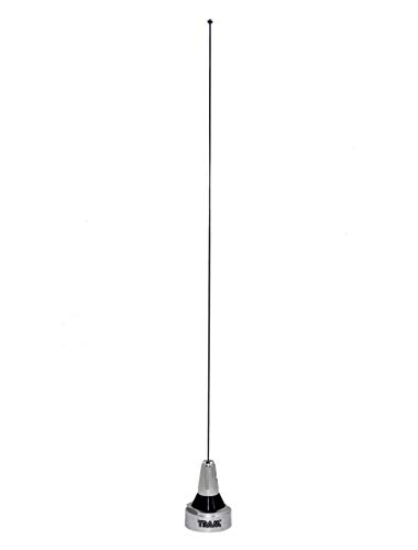 [해외]Flexible Tunable Stainlees Steel 20 inch 136-510 MHz 34 inch NMO Antenna for All VHF UHF Mobile Radios 1113 / Flexible Tunable Stainlees Steel 20 inch 136-510 MHz 34 inch NMO Antenna for All VHF UHF Mobile Radios 1113
