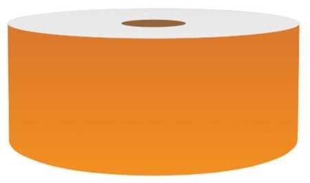Label Tape, Orange, 2in W, For Mfr No. VnM4