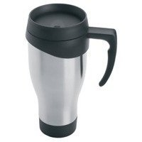 Maxam Stainless Steel Travel Mug, 24-Ounce