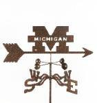 U of Michigan Roof Mount Weathervane