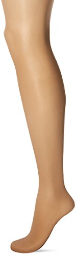(L'eggs Women's Sheer Energy Control Top Toe Pantyhose, Nude, Q)
