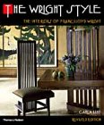 img - for Wright Style: Interiors of Frank Lloyd Wright book / textbook / text book