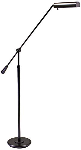 House of Troy FL10-MB Counter Balance Collection Adjustable Grand Piano Lamp, 54