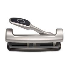 2-3 Hole Puncher,Adjustable,w/ Lever Handle,15-SH Capacity,