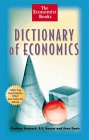 The Economist Books Dictionary of Economics, Graham Bannock and R. E. Baxter, 047129599X