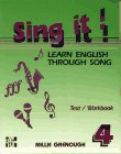 Sing It! Learn English Through Song Vol. 4 : Level 4, Grenough, Millie, 0079116833