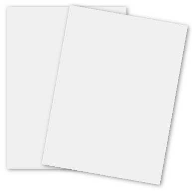 White 2pBasics 12-x-18 Cardstock Paper 100-pk - 270 GSM (100lb Cover) PaperPapers Large size Card Stock Paper - Business, Card Making, Designers, Professional and DIY Projects by Paper Papers