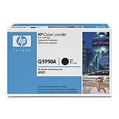 Brand New Genuine Hewlett Packard HP Q5950A Laser Toner Cartridge - Black, Designed to Work for HP Color LaserJet 4700, HP Color LaserJet 4700dn, HP Color LaserJet 4700dtn, HP Color LaserJet 4700n