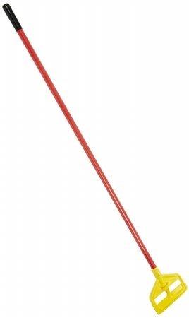 (Rubbermaid Commercial 640-H146-R Invader Wet Mop Handle Fiberglass Plastic Head Red)