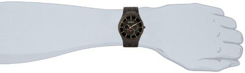 Skagen Men's SK809XLTBB Titanium Black Dial Watch