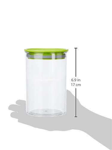 Amazon Brand - Solimo Airtight Plastic Storage Container Set (4 pieces, 900ml)