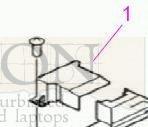 Hewlett Packard Lens Cap - HP RB2-8692 HP 9000MFP LENS COVER