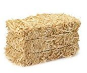 Hay Mini (Set of 3 Mini Hay Bales for Autumn Harvest Craft, Decoration and Display)