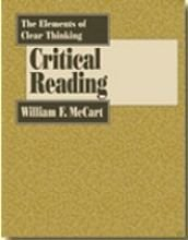 The Elements of Clear Thinking: Critical Reading