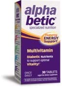 Alpha Betic Multivitamin Plus Extended Energy 30 Tablets Pack of 3