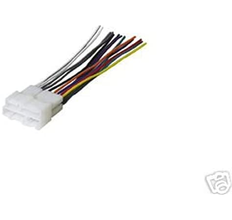 [SCHEMATICS_48ZD]  Amazon.com: Stereo Wire Harness Chevy CK Silverado 95 96 97 98 (car Radio  Wiring Installation Parts): Automotive | 1989 Cadillac Wiring Harness Color Codes In Stereo |  | Amazon.com