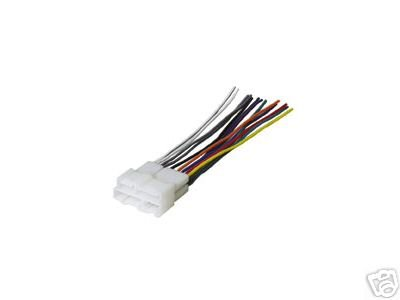 21NZCD5G89L amazon com stereo wire harness chevy blazer s10 95 96 97 (car Aftermarket Radio Wiring Harness at gsmx.co