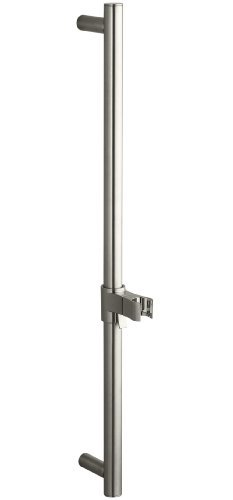 (Kohler K-9069-BN 24-Inch Shower Slide Bar, Vibrant Brushed Nickel)