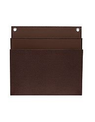 "Martha Stewart Home Office with Avery Large Shagreen Double Pocket, 11 3/4"" X 12"", Brown"