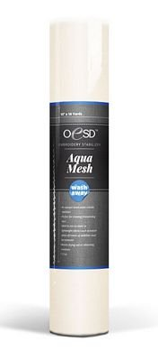 OESD Aquamesh Wash-Away Stabilizer White 20 x 10 Yard Roll