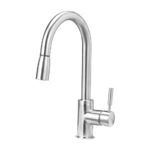 Blanco 441647 Sonoma Kitchen Faucet with Pull Down Spray, Small, Stainless Steel by Blanco
