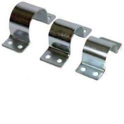 PremiumX Mastschelle 42mm 4-Loch Stahl verzinkt Masthalterung f/ür Mastrohre bis 42 mm /Ø Rohrschelle SAT Antenne Mast Befestigung Montage-Zubeh/ör