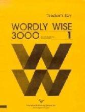 Wordly Wise 3000: Book 1 : Teacher's Key PDF Text fb2 ebook