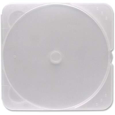 - VER93975 - Verbatim CD/DVD Clear TRIMpak Cases - 200pk (Bulk)