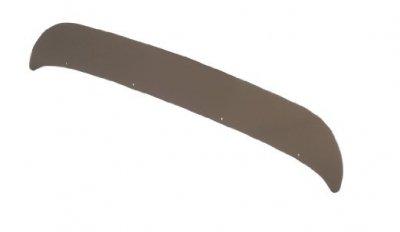 (Belmor 78007002-1 Smoke Mustache Shield Hood Protector for 1988-1996 Freightliner FLC 112)