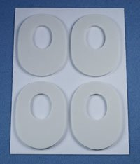 2109 Pedi-pads 1/8 Foam #104 100/Pack Part# 2109 by Aetna Felt Corporation Qty of 1 Pack