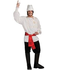 Rubie's Costume Co. Men's White Russian Costume, As Shown, Standard