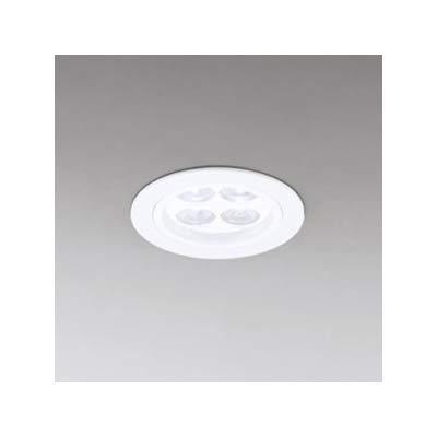LEDダウンライト SGⅠ形 埋込穴φ75 LED4灯 配光角:54°非調光 本体色:マットホワイト 電球色形 2700K B07RXM288M