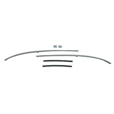 (Roof Rail Inner Weatherstrip Channel Set for 1968 Chevy Chevelle)