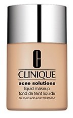 Clinique/acne Solutions Liquid Makekup 02 Fresh Ivory 1.0 Oz 1.0 Oz Acne Solutions Foundation 1.0 OZ