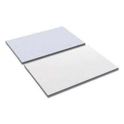 (Alera TT3624WG Reversible Laminate Table Top, Rectangular, 35 3/8w X 23 5/8d, White/Gray)