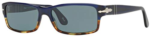 Persol PO2747S Sunglasses-955/4N Havana/Blue (Photopolar Blue ()
