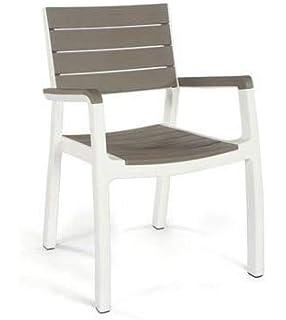 Paquete de: 4 Sillas para terraza Bolero madera y aluminio ...