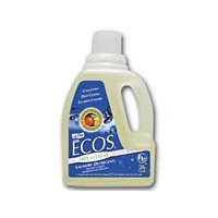 Earth Friendly Ecos Liquid Laundry Detergent Free and Clear, 50 OZ