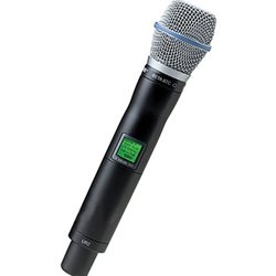 Shure UR2/BETA87C UHF-R Wireless Handheld Transmitter with Beta 87C Microphone
