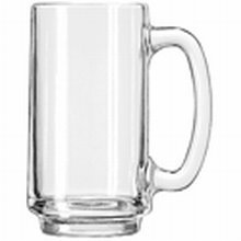 Libbey 5273 Clear 12 Ounce Mug - 12 / CS